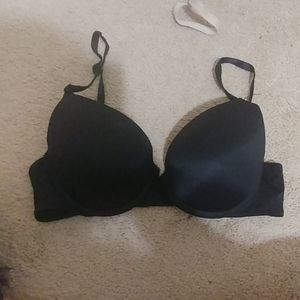 Black VS Pink bra